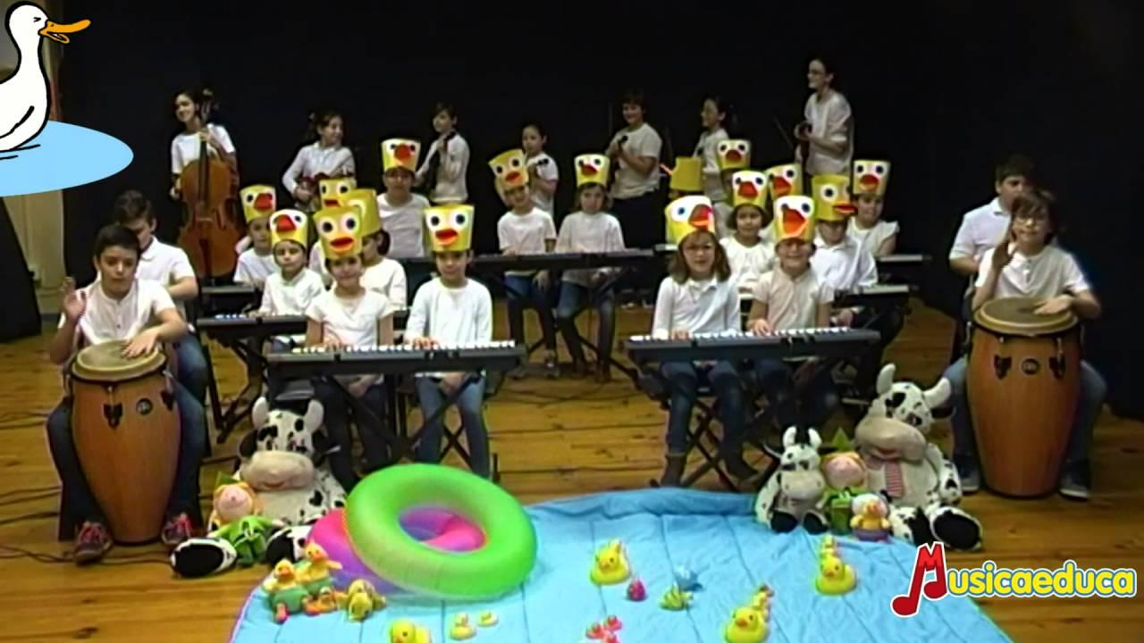 Los patos - Grupo de alumnos de Mi Teclado 2 - Conservatorio Mayeusis Pontevedra