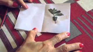 Make a pocket book for your Santa Shoebox