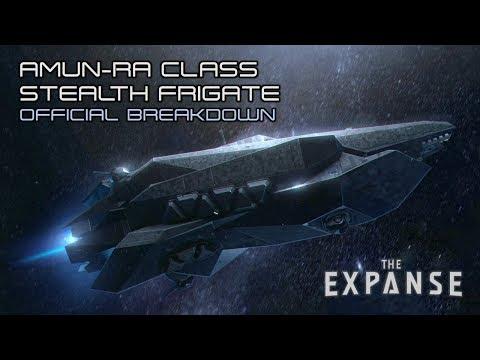Stealth fregata třídy Amun-Ra