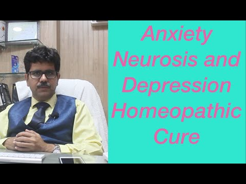 Anxiety Neurosis Cured by Homeopathy