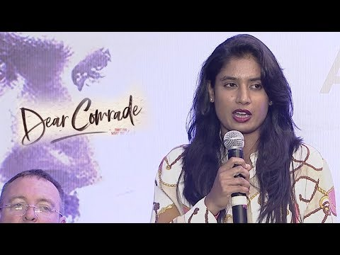 Mithali Raj at Dear Comrade Interview At AMB Cinemas