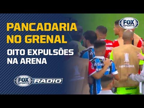 LAMENTÁVEL! Confusão do Gre-Nal na Libertadores é tema do