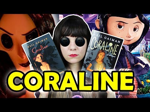 Coraline - Neil Gaiman [Livro/HQ/Filme]