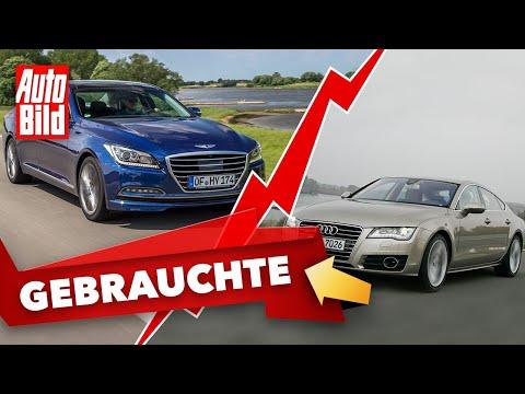 Audi A7 S-Line und Hyundai Genesis |Das Gebrauchtwagen-Battle mit Conny Poltersdorf und Moritz Doka