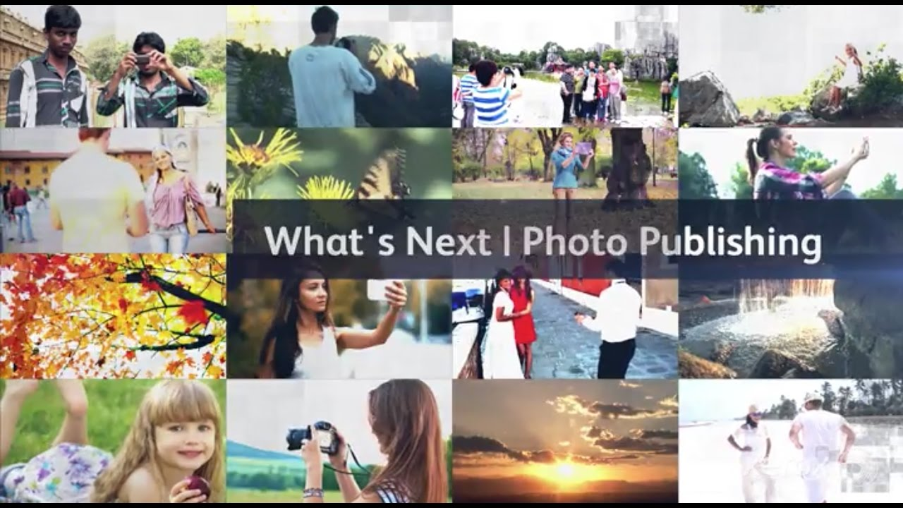 The Future of Printed Photo Publishing YouTube Video