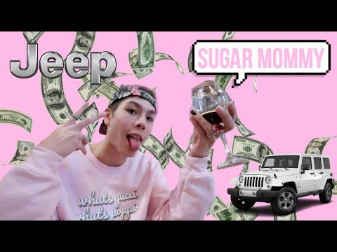 vlogging my sugar MOMMY date (she bought me a JEEP?)