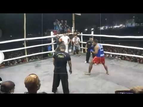 Jhoni Hunter vs Gandun | Pencak Dor Joho Wates Kediri