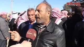 دفعة جديدة من المهجرين تعود إلى مناطقهم بريف دير الزور