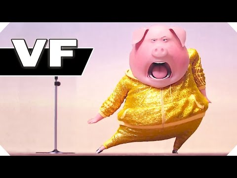 Tous en Scène NOUVELLE Bande Annonce VF (Animation, Famille - 2017)