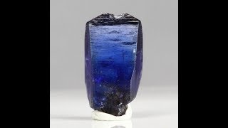 19.46ct Gemmy Deep Blue Violet Tanzanite Crystal