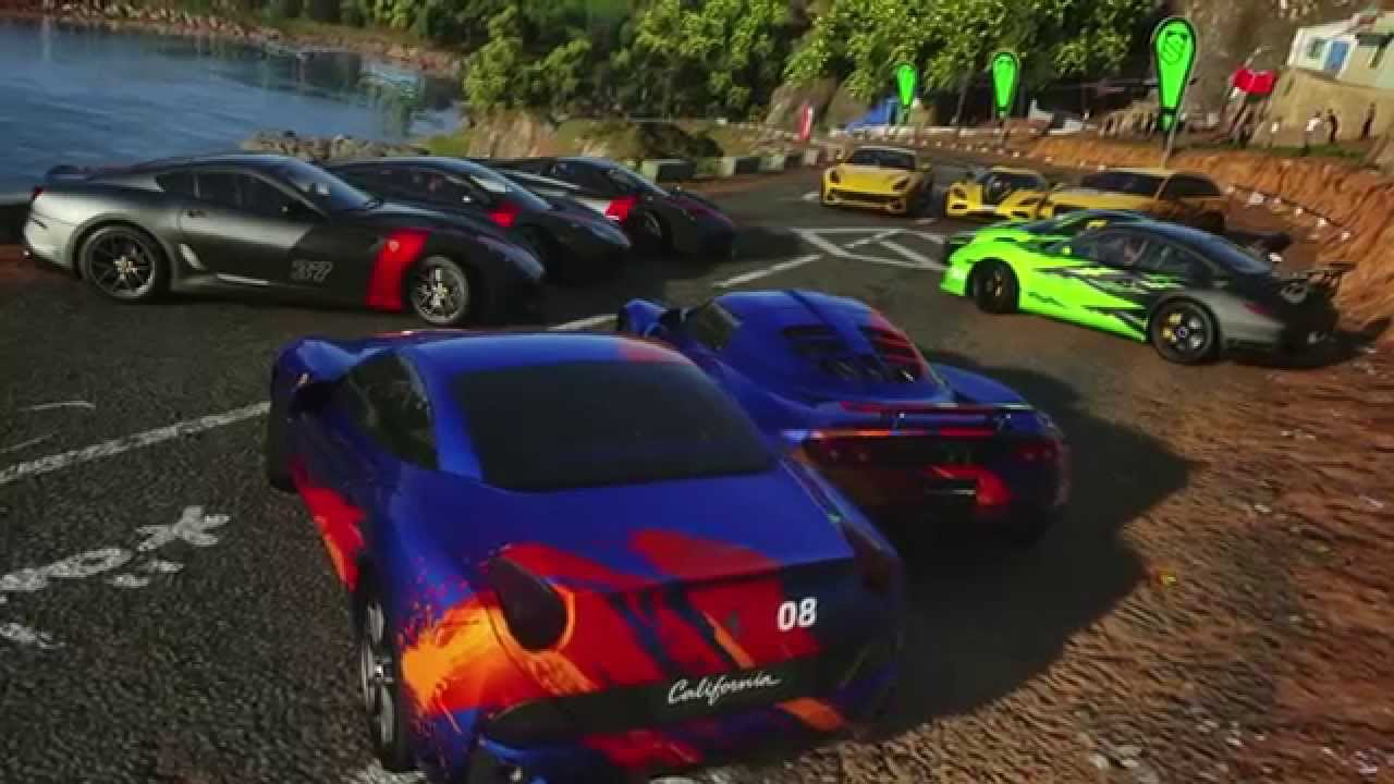 Feast your eyes on a brand new DRIVECLUB trailer