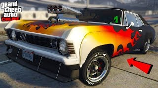 "TWIN TURBO SUPERCHARGED MUSCLE CAR ""GTA ARENA WAR DLC UPDATE!"" - GTA Online"
