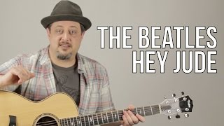 Hey Jude - The Beatles - Guitar Lesson - How to Play on