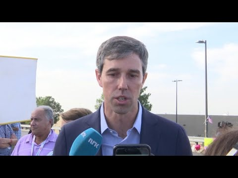 Democratic Presidential Candidate Beto O'Rourke, who was an El Paso congressman for six years, says President Donald Trump's rhetoric played a role in the massacre that jolted the Texas border city. (Aug. 5)