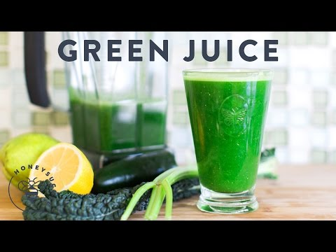 Video Green Juice Recipe for Clean Body & Soul - Honeysuckle