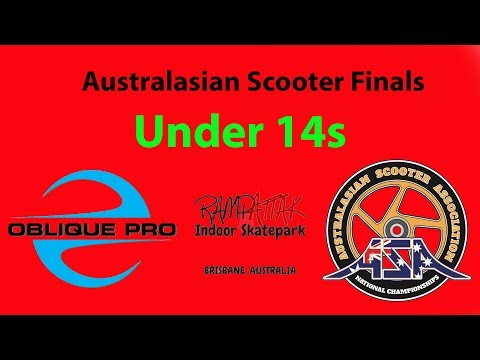 Ky Scarpellini - ASA Australia Scooter Finals Under 14s