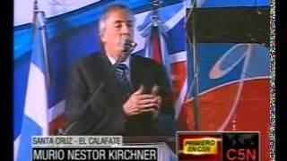 Murio Nestor KirchnerUltimo MomentoC5N27/10/2010