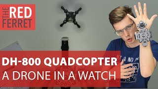 HobbyWow DH-800 Quadcopter - The Quad in a Watch! [REVIEW]