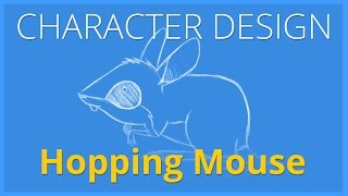 CHARACTER DESIGN   Spinifex Hopping Mouse