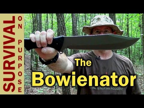 Schrade SCHF45 Bowie Style Chopper – Survival Knife