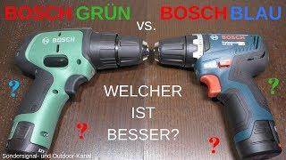 [VERGLEICH] Bosch grün vs. Bosch blau | Sondersignal- und Outdoor-Kanal