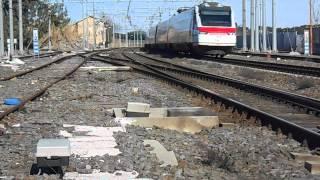 preview picture of video 'UN ETR 460 PER IL FRECCIABIANCA 9873'