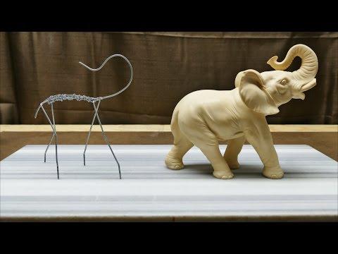 sculpting an elephant by thebroodingtom