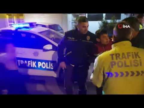 İzmir'de film sahnelerini aratmayan kovalamaca