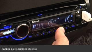Sony Xplod MEX-BT3900U Car Receiver Display And Controls Demo | Crutchfield Video
