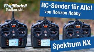 Spektrum NX6, NX8 und NX10 von Horizon Hobby – RC Sender mit SMART Telemetrie im FlugModell Test