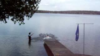 Nolan's Dip in Sunset Lake