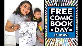 Ep. 92 - 2019 Free Comic Book Day and Star Wars Day - at Hi De Ho Comic Con