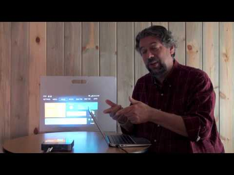 AT&T ZTE SPro 2 Smart Video Projector Demo & Review