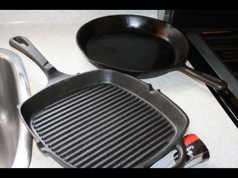 How To Season A Cast Iron Grill Pan Before Use.