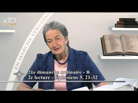 21e dimanche ordinaire B - 2e lecture