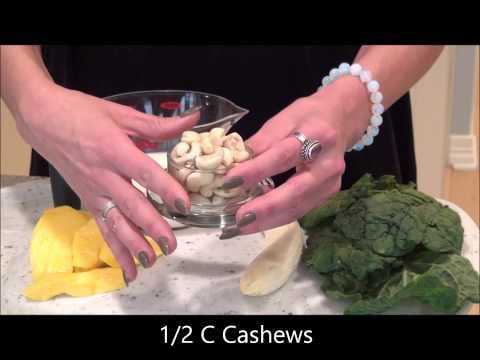 Video Kale Mango Smoothie Recipe Kuvings Whole Slow Juicer