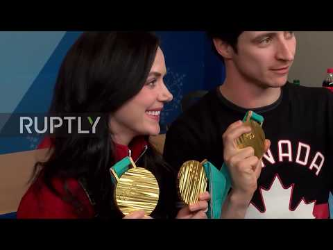 South Korea: 'These are the Olympic medals that we deserve' - Canada's skating stars Virtue and Moir