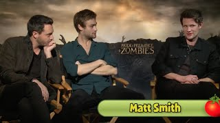 Мэтт Смит, Pride and Prejudice and Zombies Cast Talks Indecent Proposals