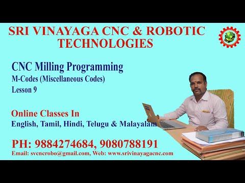 M Codes For Cnc Programming Tamil - Free Cnc Training Online ...