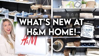 H&M HOME SHOP WITH ME SUMMER 2021   AFFORDABLE HOME DECOR
