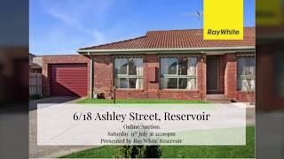 6/18 Ashley Street, Reservoir