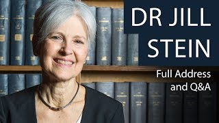 Dr Jill Stein | Full Talk and Q&A | Oxford Union