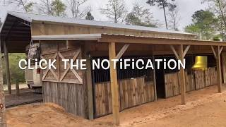 RECLAIMED WOOD   Horse Stables   How To Build Horse Stalls   Dale Hickman   Daless Marine