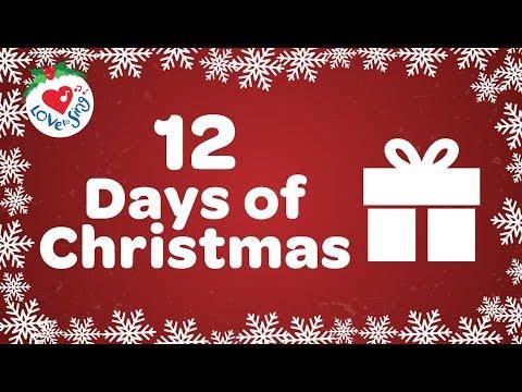 12 Days of Christmas with Lyrics 2018 | Christmas Songs and Carols