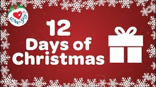12 Days of Christmas with Lyrics | Christmas Songs and Carols