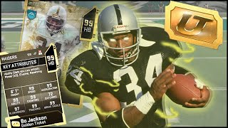 Golden Ticket Bo Jackson LITERALLY Can't Be Stopped! Just Quit The Game! (Madden 20)