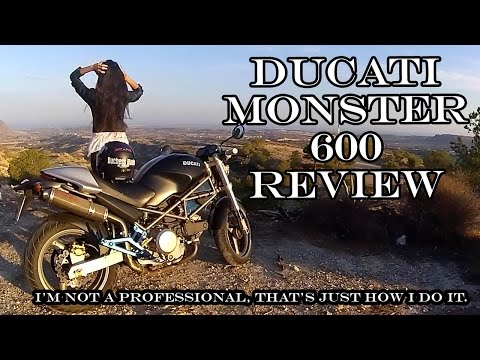 Ducati Monster 600 (2001) Review    ride with me