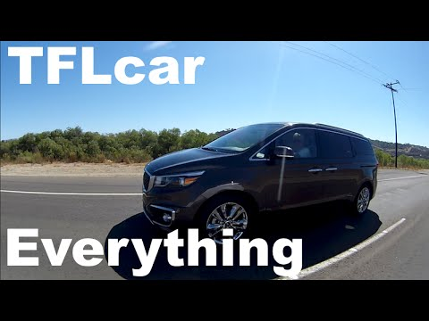 2015 KIA Sedona: Almost Everything You Ever Wanted to Know
