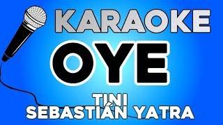 KARAOKE (Oye - TINI, Sebastián Yatra)