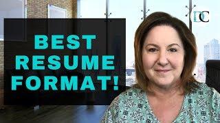Combination Resume Format: BEST RESUME FORMAT 2020